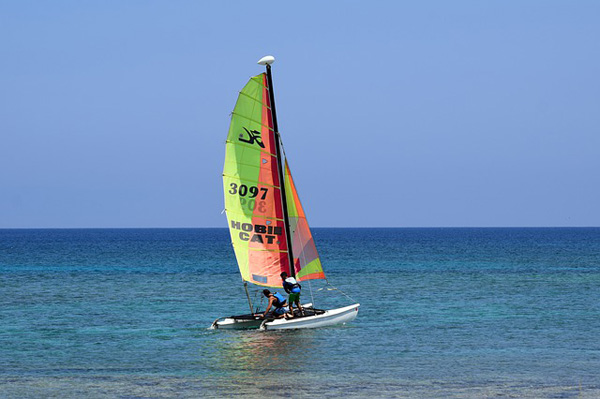Gite in Catamarano